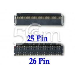 Connettore 25/26 Pin Su Scheda-Madre Connessione LCD IPad 4