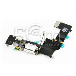 iPhone SE White Charging Connector Flex Cable No Logo