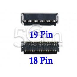 Connettore 19/18 Pin Su Scheda-Madre Connessione Flex Comandi iPad 3