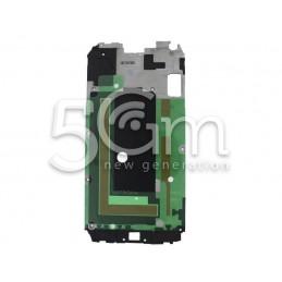 Samsung SM-G903 S5 Neo Black Lcd Frame