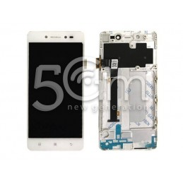 Display Touch Bianco + Frame Lenovo S90