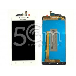 Display Touch Bianco Lenovo A858