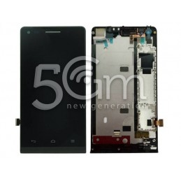 Display Touch Nero + Frame  Huawei Ascend G6 3G