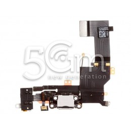 Iphone 5s White Connector Flex Cable No Logo