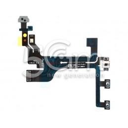 Iphone 5c Power Button Flex Cable No Logo