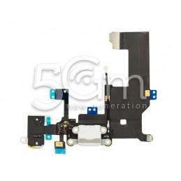 Connettore Di Ricarica Bianco Flat Cable iPhone 5