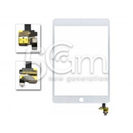 Touch Screen Bianco + Flat Completo iPad Mini 3 No Logo