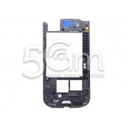 Samsung I9300 Dark Grey Middle Frame