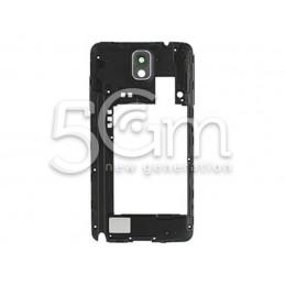 Samsung N9005 Black Middle Frame + Ringer