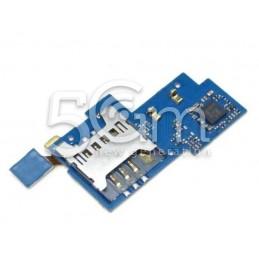 Lettore Sim Card + Supporto Samsung I9020