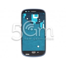 Samsung I8190 Blue Front Cover