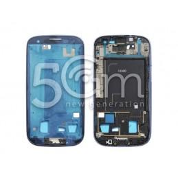 Samsung I9300 Blue LCD Frame