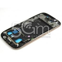 Samsung I9300 Brown LCD Frame