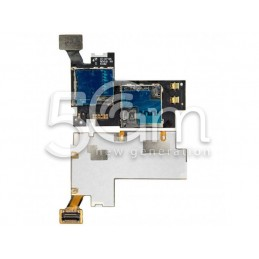 Lettore Sim Card Flat Cable Samsung N7105