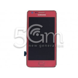 Display Touch Rosa + Connettore Ricarica + Altoparlante Samsung I9100