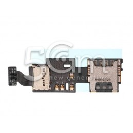 Lettore Sim Card Flat Cable Samsung N915