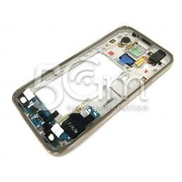 Samsung G800F S5 Mini Full Gold Middle Frame