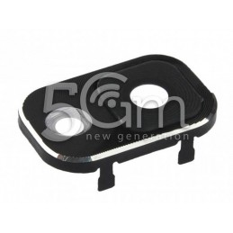 Samsung N9005 Camera Frame + Glass Lens for Black Version