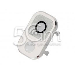 Vetrino + Frame Fotocamera Samsung N9005 x Versione Bianco