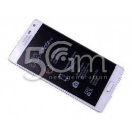 Display Touch Bianco + Frame Samsung N915