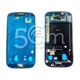Samsung I9305 Blue LCD Frame