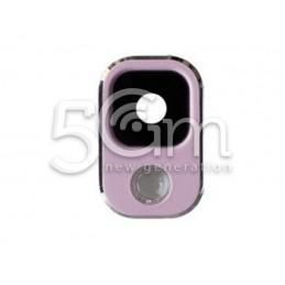 Vetrino + Frame Fotocamera Samsung N9005 x Versione Rosa