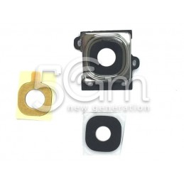 Samsung I9195 Camera Frame + Glass Lens for White Version