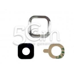 Samsung N7505 Silver Camera Frame + Glass Lens