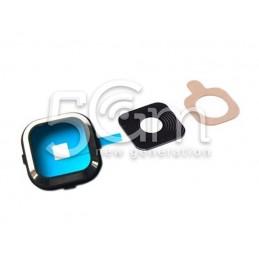 Samsung SM-A500 Camera Frame + Glass Lens for Black Version