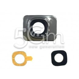 Samsung I8190 Camera Frame + Glass Lens for White Version