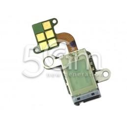 Jack Audio Nero Flat Cable Samsung SM-G860 S5 Sport