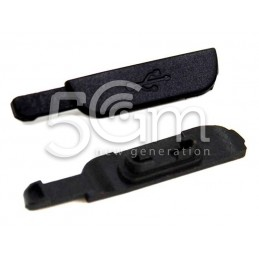 Samsung I9295 Black USB Connector Cover