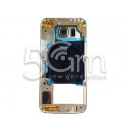Samsung G920 S6 Full Gold Middle Frame
