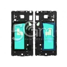 Samsung SM-A500 Black Middle Frame