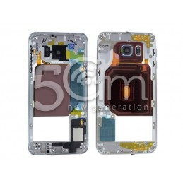 Middle Frame Silver-White Completo Samsung SM-G928 S6 Edge+