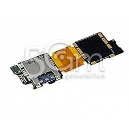 Samsung S5 G9000v Sim Card Reader Flex Cable