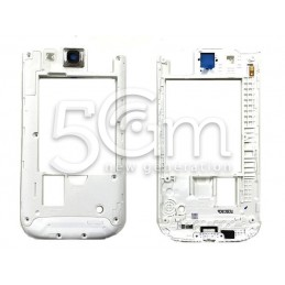 Samsung I9301i Galaxy S3 White Middle Frame