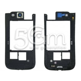 Samsung I9301i Galaxy S3 Black Middle Frame