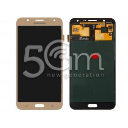 "Samsung SM-J7 ""J700"" Gold Touch Display"
