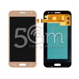 "Samsung SM-J2 ""J200F"" Gold Touch Display"