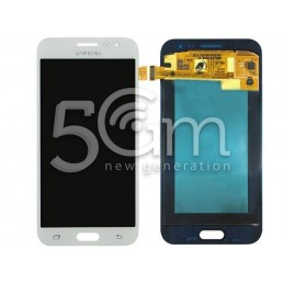 "Samsung SM-J2 ""J200F"" White Touch Display"