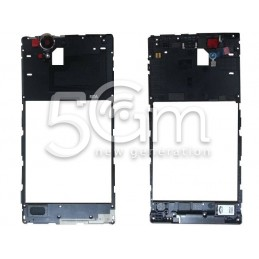 Xperia T2 Ultra Dual Sim Middle Frame + Ringer + Antenna Contacts