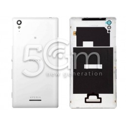 Xperia T3 White Back Cover + Antenna Contacts