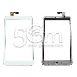 Touch Screen Bianco + Frame Alcatel One Touch Pop 8