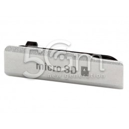Xperia Z1 Compact White SD Card Port Cover