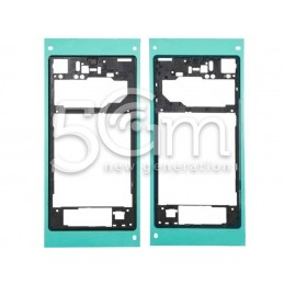 Sony Xperia Z1 L39H Black Back Frame