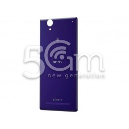 Xperia T2 Ultra Purple Back Cover