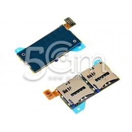 Xperia T2 Ultra Dual Sim Card Reader Flex Cable