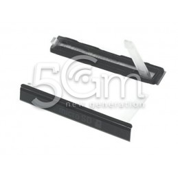 Xperia T2 Ultra Dual Black Micro SD Card Port Cover