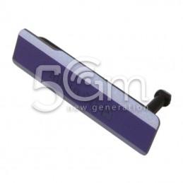 Sportellino Copertura SD Purple Xperia Z1